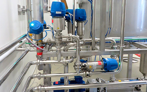 Chemical and food industry plants, GRANZOTTO, cleaning and